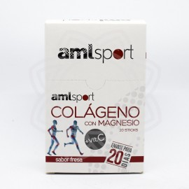 Colágeno con Magnesio AMLSPORT 20 Sticks