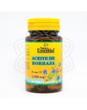 Aceite Borraja 1000mg NATURE ESSENTIAL 30perlas