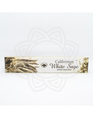 Incienso Californian White Saga GREEN TREE 15g