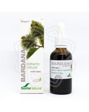 Bardana Extracto Natural SORIA NATURAL 50ml