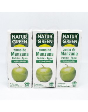 Zumos Manzana NATURGREEN 200ml