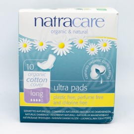 Compresas Naturales Long NATRACARE 10 uni