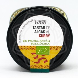 Tartar de Algas al Curry