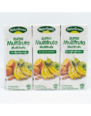 Zumo Multifrutas NATURGREEN 200ml
